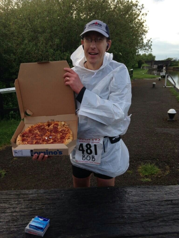 GUCR pizza at 65m