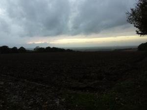....unsettled sky.