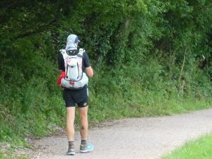 Setting off on Thursday morning, perhaps carrying enough for a week?
